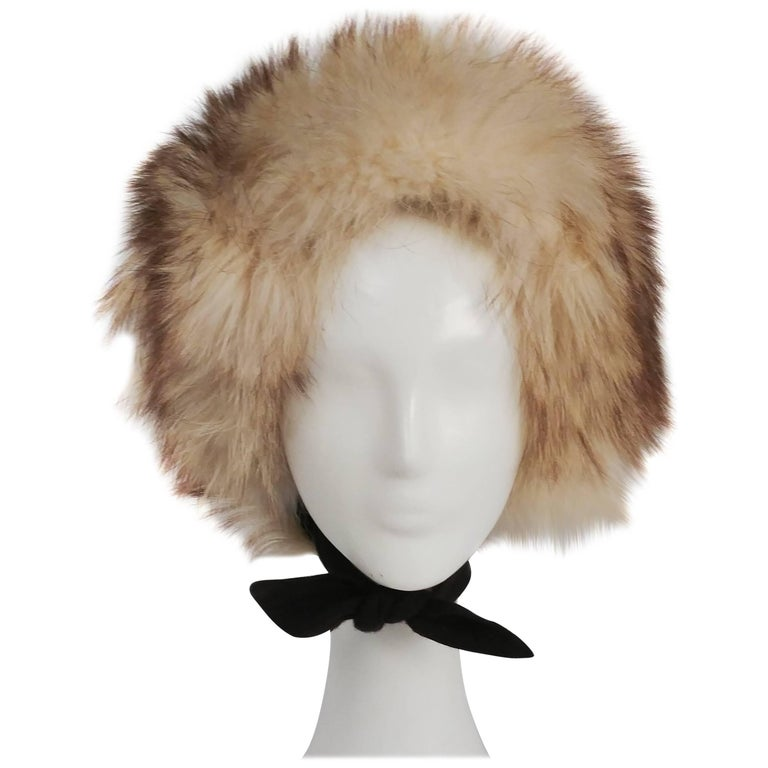 1960s Fisher Fur Mod Bonnet