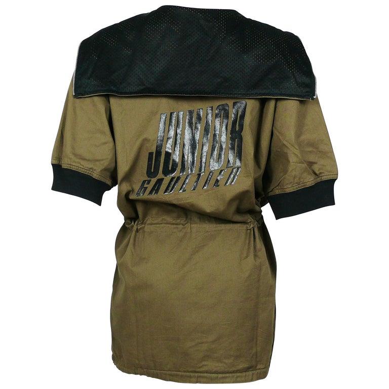 Jean Paul Gaultier Vintage Cotton Anorak Jacket Size M