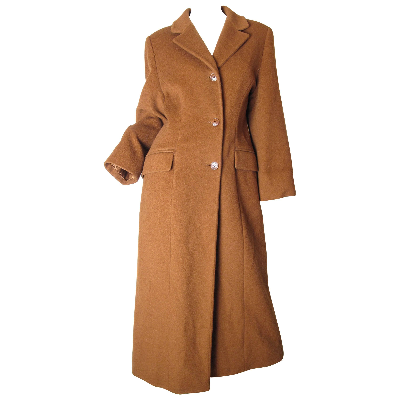 Guy Laroche Long Wool Coat