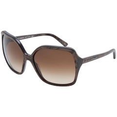 Dolce & Gabbana Taupe Marbled Sunglasses with DB
