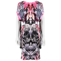 "ALEXANDER McQUEEN S/S 2009 ""Natural Dis-tinction"" Crystal Kaleidoscope Dress"