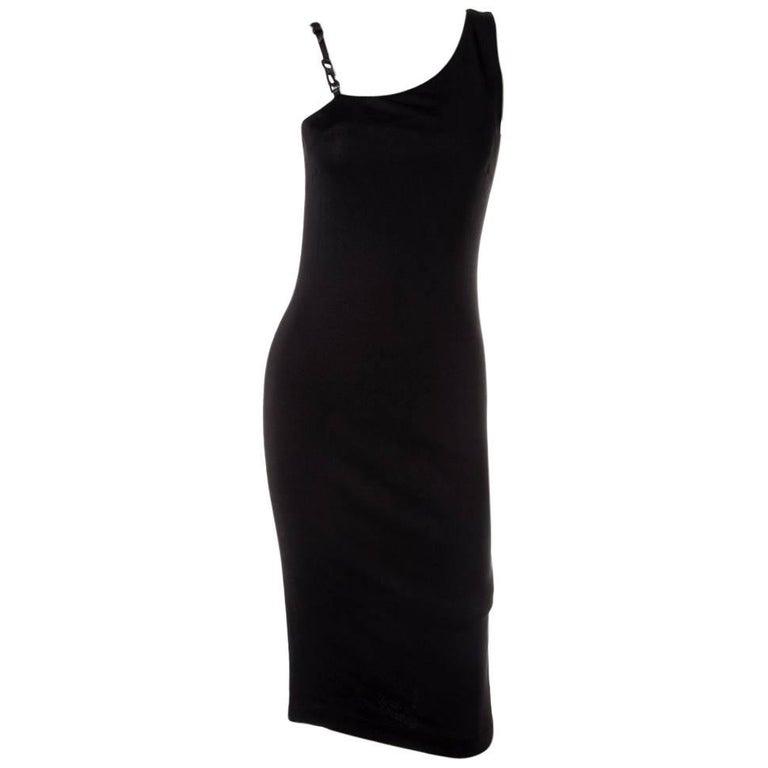 Gucci Minimal One Shoulder Dress 1
