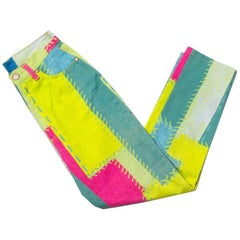 Christian Lacroix Colourblock Jeans
