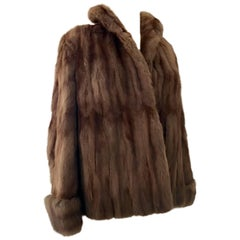 1960' Mink Fur Jacket By, H.P. Wasson & Co.