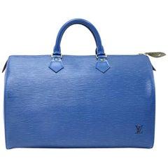 Vintage Louis Vuitton Speedy 35 Epi Leather City Hand Bag