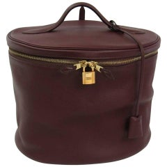 Hermes Vanity Jewelry Men's Women's Travel Storage Carry All Case Shoulder Bag