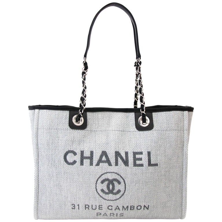 2bfeb8e04966 Chanel Deauville 31 Rue Cambon Tote Bag at 1stdibs