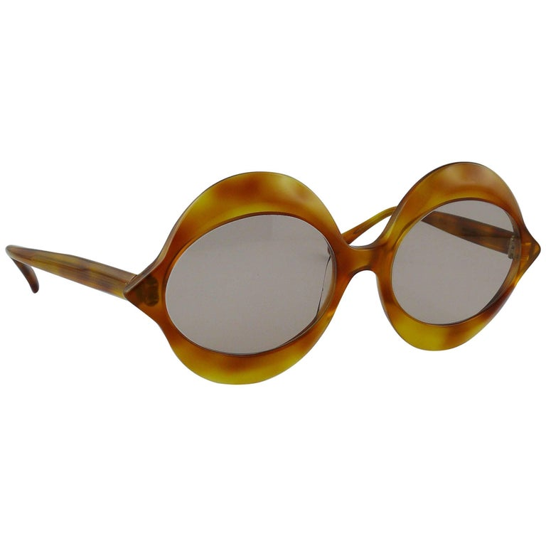 Pierre Cardin Vintage Iconic Kiss Sunglasses