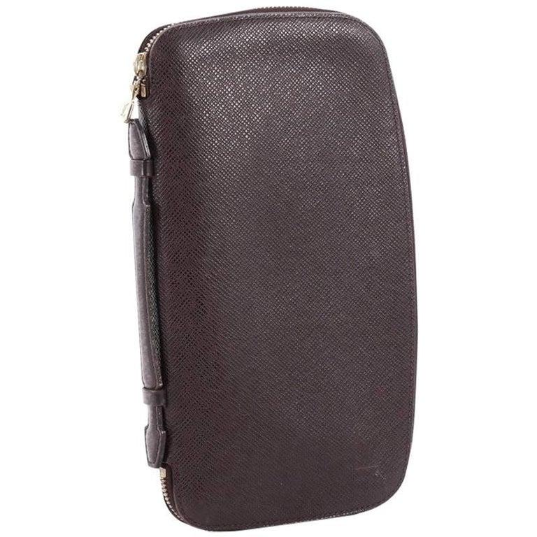 70f01ecd5ec5 Louis Vuitton Atoll Organizer Wallet Taiga Leather at 1stdibs