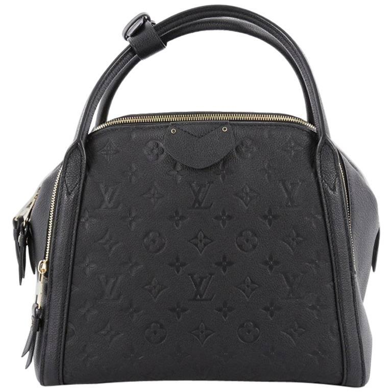 louis vuitton marais handbag monogram empreinte leather mm at 1stdibs