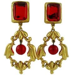 Kenzo Vintage Dangling Earrings