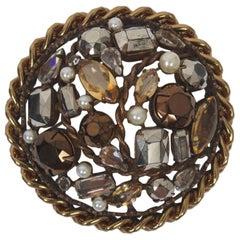 Schreiner Stone Brooch
