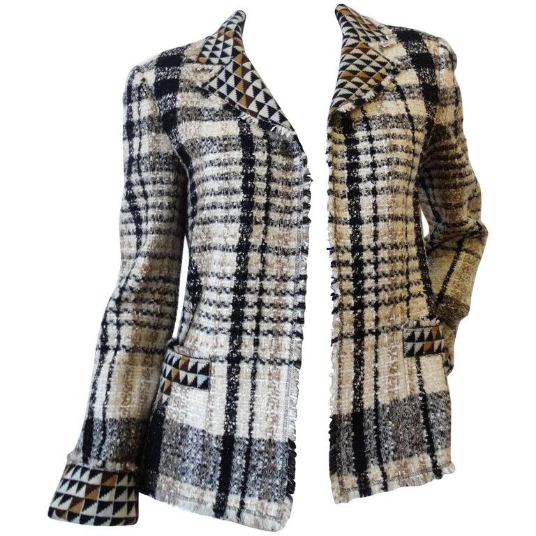 2004 Chanel Ready-to-Wear Runway Tweed Jacket