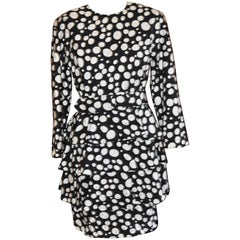 1980s Scaasi Silk Dress (8)