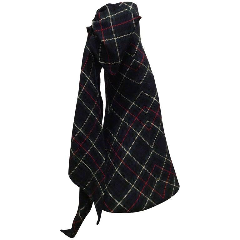 Louis Vuitton Long Plaid Skirt Fall 2014 Sz 36 (US sz 4)