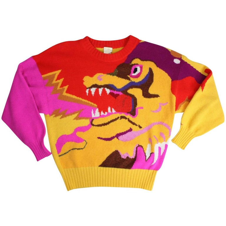 1980's Krizia Figural Sweater