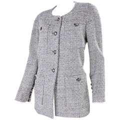1980's Chanel Wool Boucle Jacket