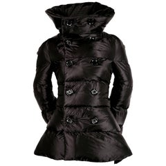 Junya Watanabe for Comme des Garcons padded runway coat with bustle, 2009