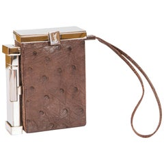 Tom Ford for Yves Saint Laurent Fall 2001 Ostrich Leather Cigarette Case