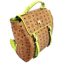 MCM Stark Side Stud Leather Backpack