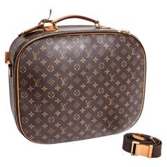 LOUIS VUITTON Packall Suitcase in Monogram Brown Canvas