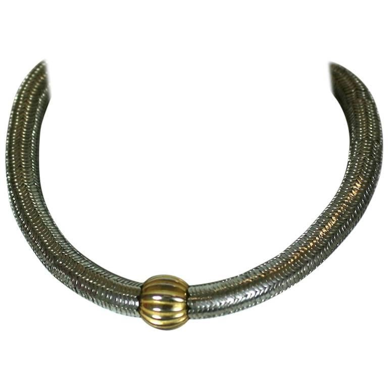 6e1c0589068 Yves Saint Laurent Rive Gauche Early Necklace For Sale at 1stdibs