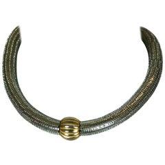 Yves Saint Laurent Rive Gauche Early Necklace