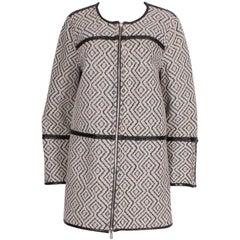 Reversible Zip Up Coat