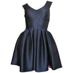 1994 Donna Karan Neoprene Skater Dress