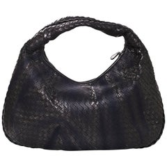 Bottega Veneta Black Woven Leather Shadow Bag with DB rt. $3,300