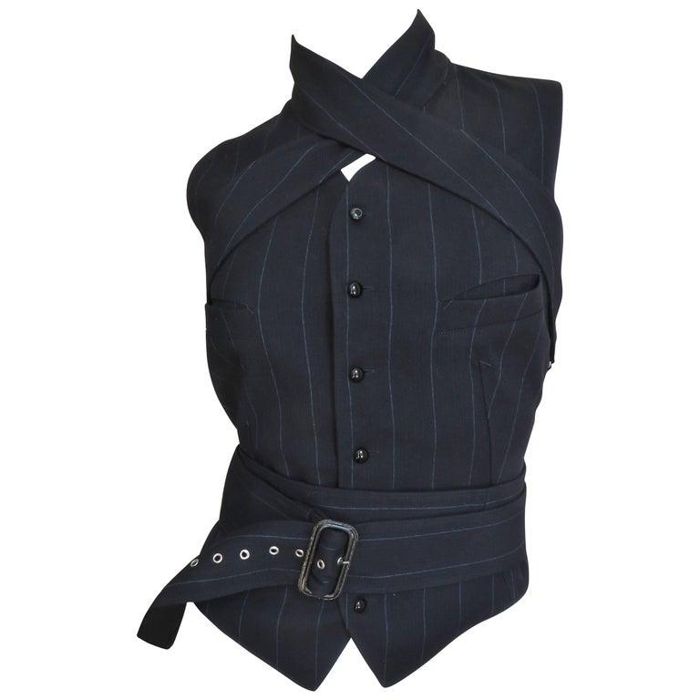 1990s Jean Paul Gaultier Wrap Bondage Vest