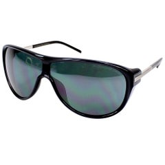 Porsche Design P8598-A-69 Blue Denim / Black Polarised Sunglasses