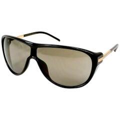 Porsche Design P8598-C-69 Grey-Gold / Black Sunglasses