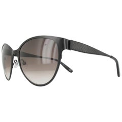 Bottega Veneta BV261S-4EXJS-56 Black / Gray Sunglasses