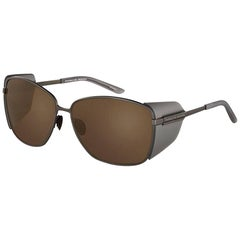 Porsche Design P8599-A-63 Brown Sunglasses