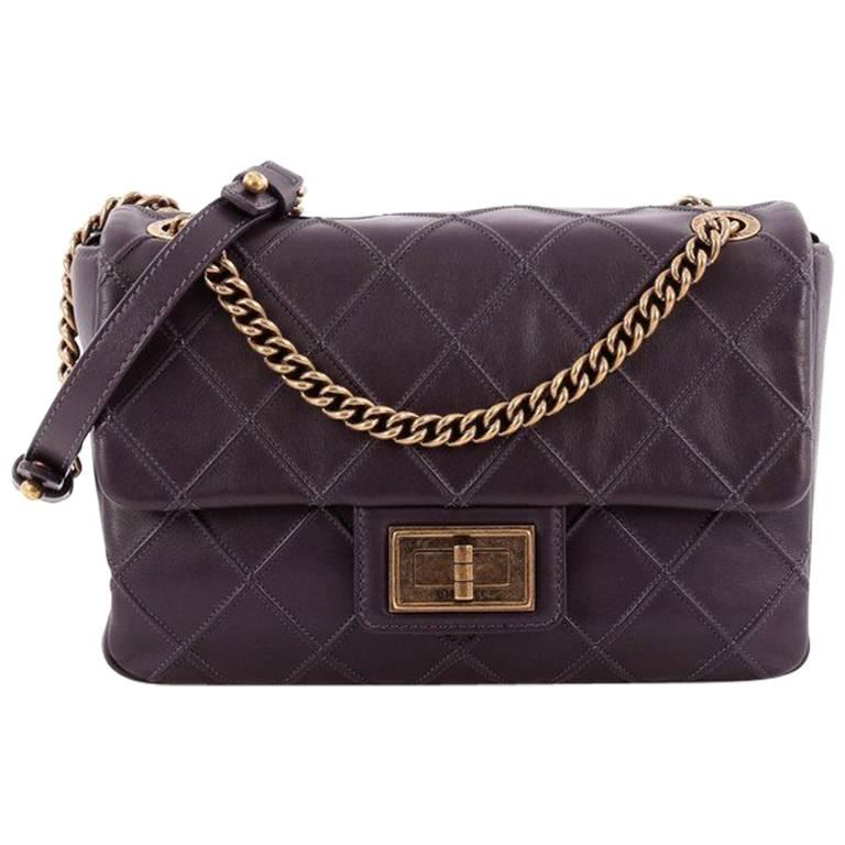 ee005eeaa593b9 Chanel Cosmos Flap Bag Quilted Calfskin Medium at 1stdibs