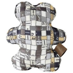 Hermes Dou Dou Bolduc Silk Teddy Bear SO Charming