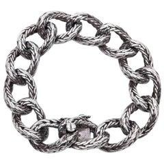 Rare HERMES Bracelet in Sterling Silver