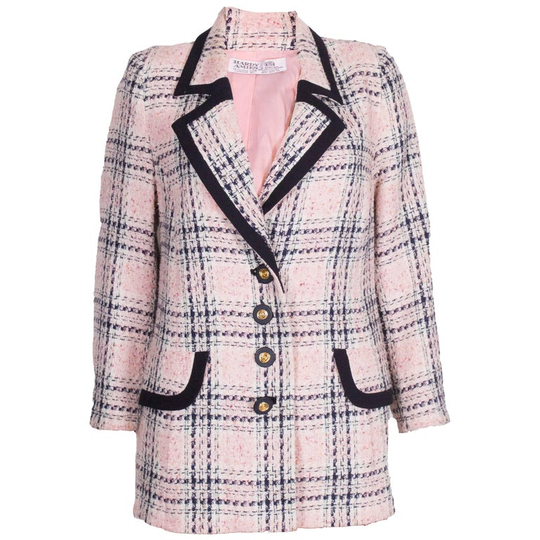 Hardy Amies Pink, Cream and Blue Jacket