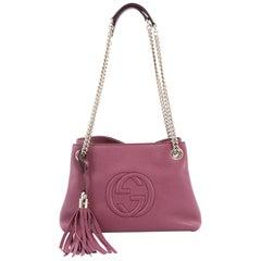 Gucci Soho Shoulder Bag Chain Strap Leather Mini