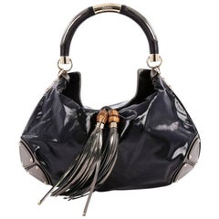 Gucci Indy Hobo Patent Large