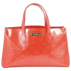 Louis Vuitton Wilshire Handbag Monogram Vernis PM
