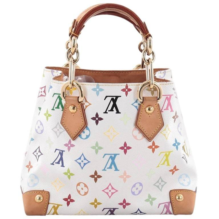 4b565692ad34d Louis Vuitton Audra Handbag Monogram Multicolor at 1stdibs