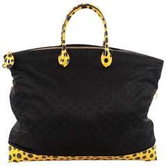 Louis Vuitton Desire Lockit Bag Monogram Nylon Kusama Infinity Dots GM