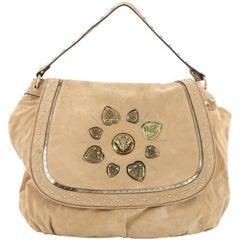 Gucci Irina Babouska Shoulder Bag Suede