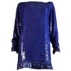 Yves Saint Laurent Rive Gauche Sweater Dress