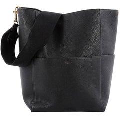 Celine Sangle Seau Handbag Calfskin Large