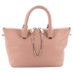 Chloe Bicolor Baylee Satchel Leather Small