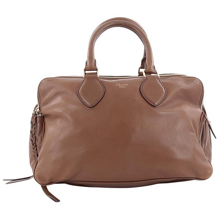 Celine Triptyque Handbag Smooth Leather Medium