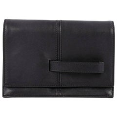 Valentino My Own Code Clutch Leather
